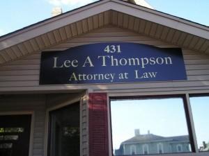 Lee A Thompson Lancaster Ohio Attorney